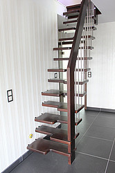 Spartreppe Holztreppe
